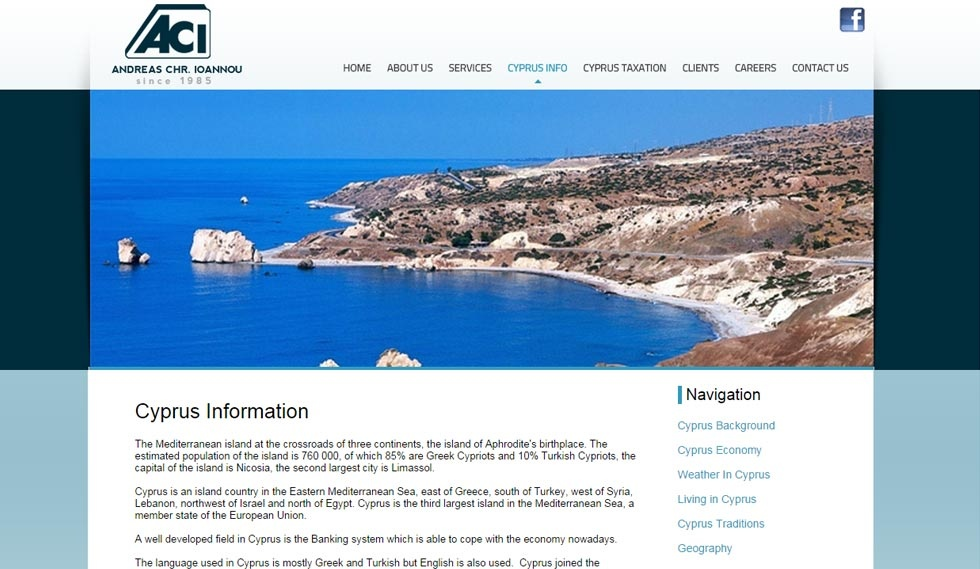 ACI Accountants Cyprus Info Page