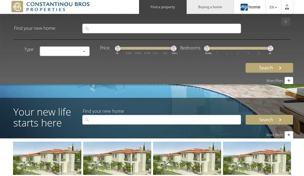 Constantinou Bros find and search for your new home
