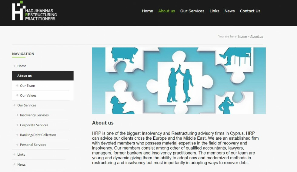 HRP About Us Page