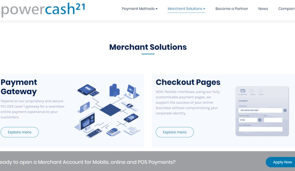 Powercash21 Merchant Solutions