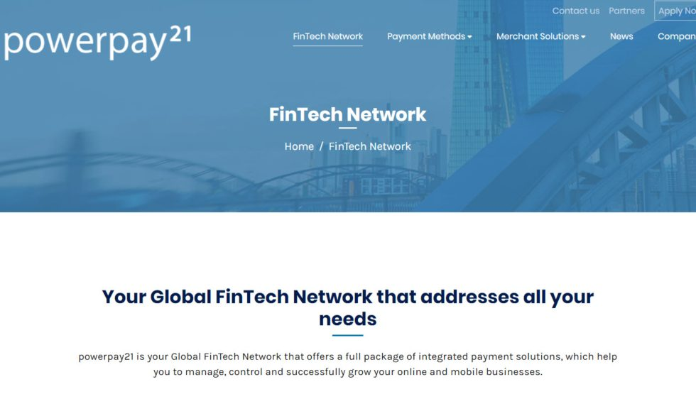 Powerpay21 FinTech Network