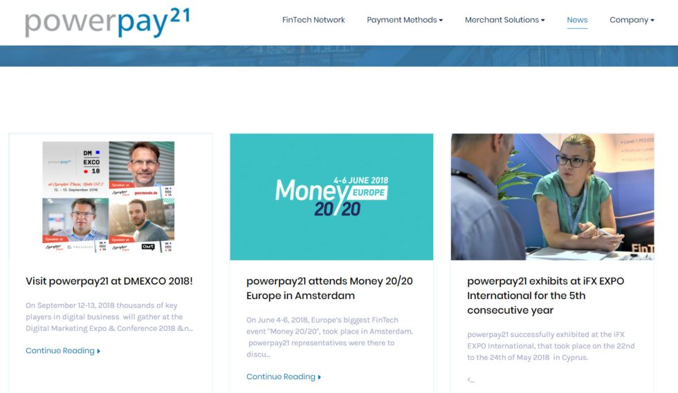 Powerpay21 News
