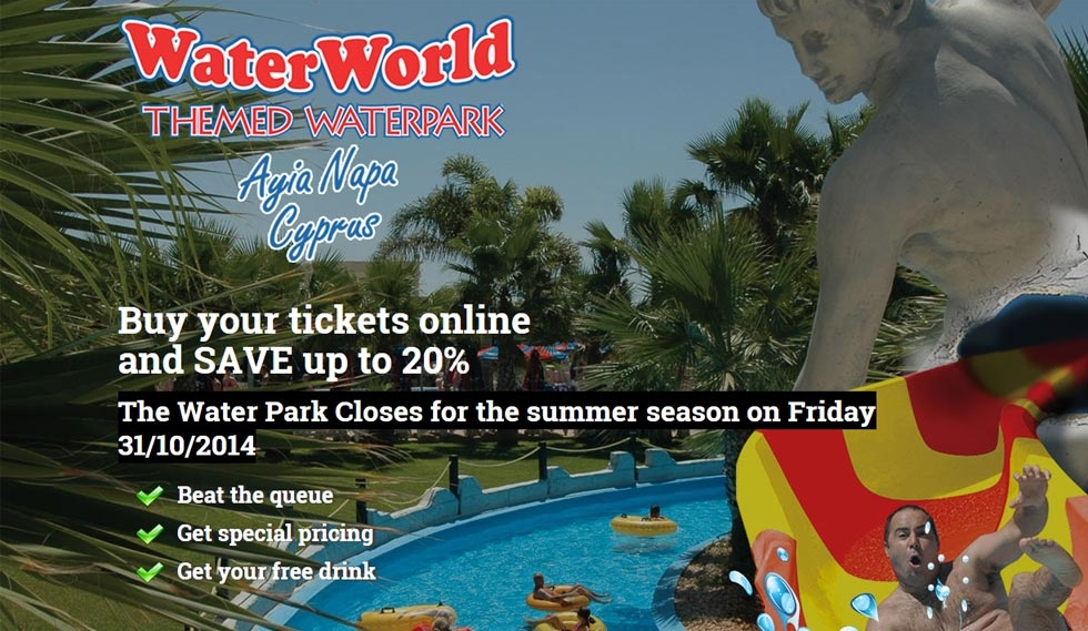 Buy WaterPark Tickets special offer