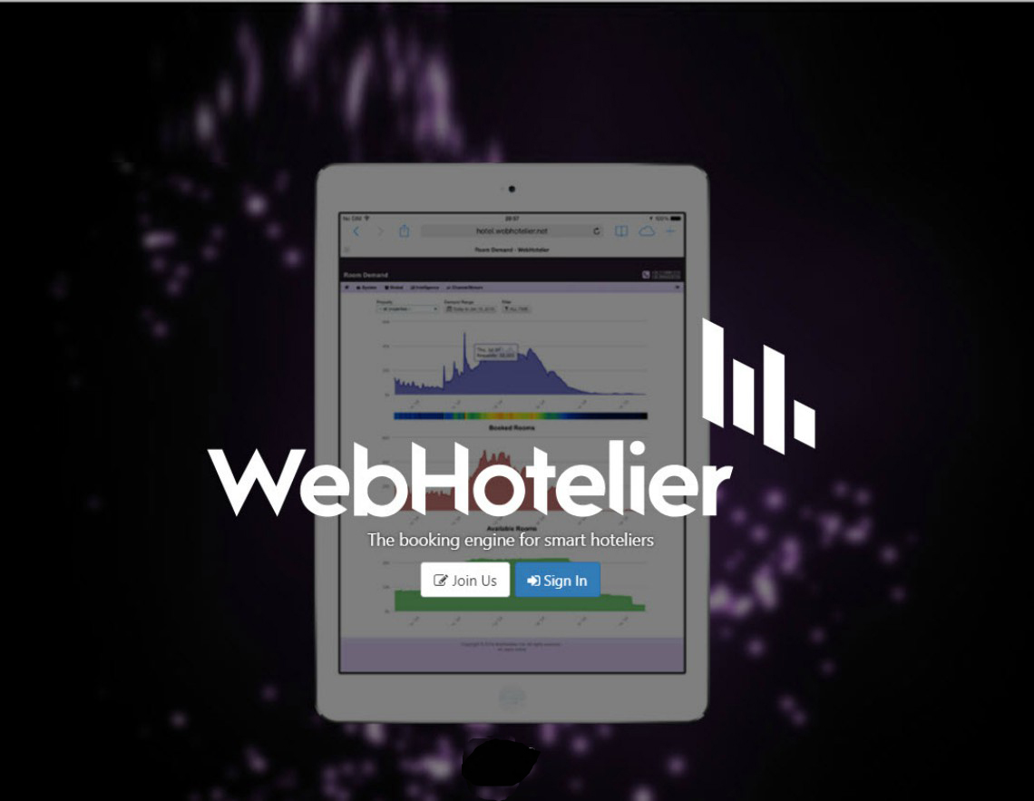 Official Partnership with WebHotelier!