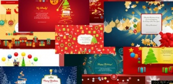 Corporate Xmas e-cards with style!