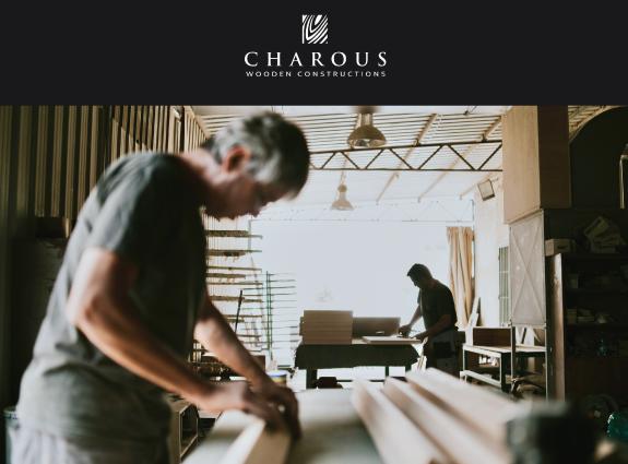 Aggelos Charous LTD Website