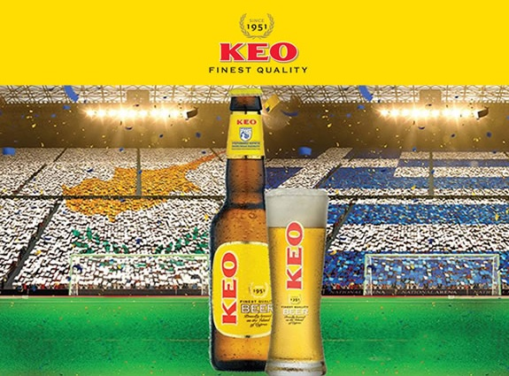KEO beer microsite