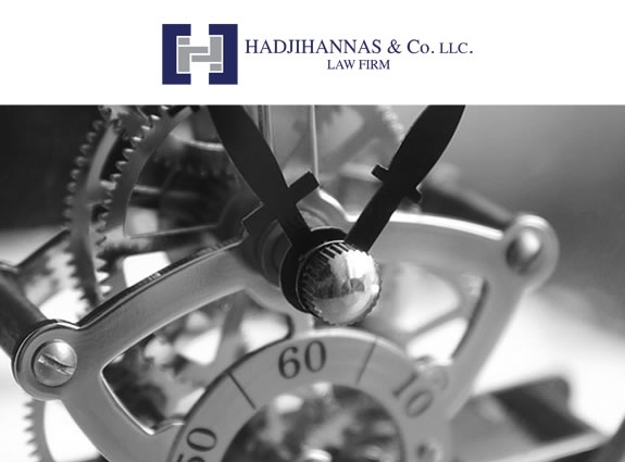 Hadjihannas Law corporate website