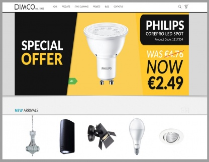 Redesign of Dimco E-Shop