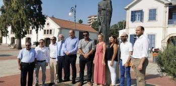 Larnaka Storytelling Statues