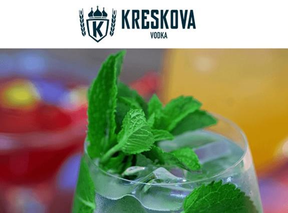 Kreskova Vodka Website