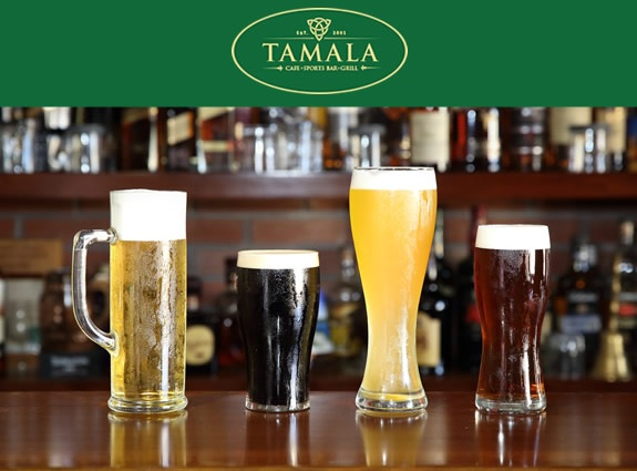 Tamala Cafe Bar Website
